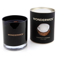 Load image into Gallery viewer, Wonderwick Candle Coconut & Mango