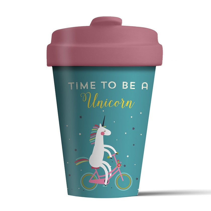 Time for Unicorns- Bamboo Travel Cup