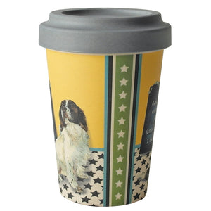 Bamboo Springer Spaniel Travel Cup