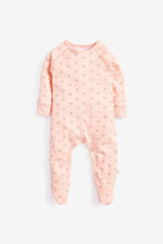 Load image into Gallery viewer, Super soft Jersey Sleepsuit in pink