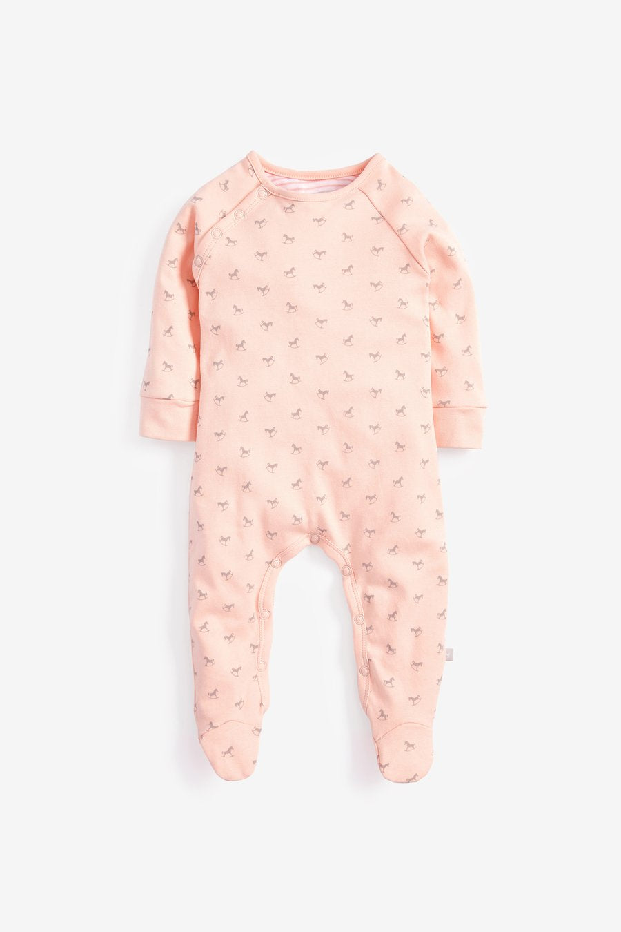 Super soft Jersey Sleepsuit in pink