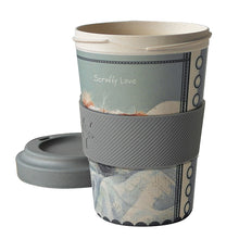 Load image into Gallery viewer, Bamboo Scruffy Love Travel Cup