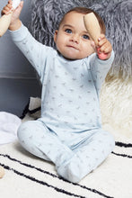Load image into Gallery viewer, Super soft Jersey Sleepsuit in blue
