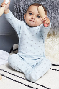 Super soft Jersey Sleepsuit in blue