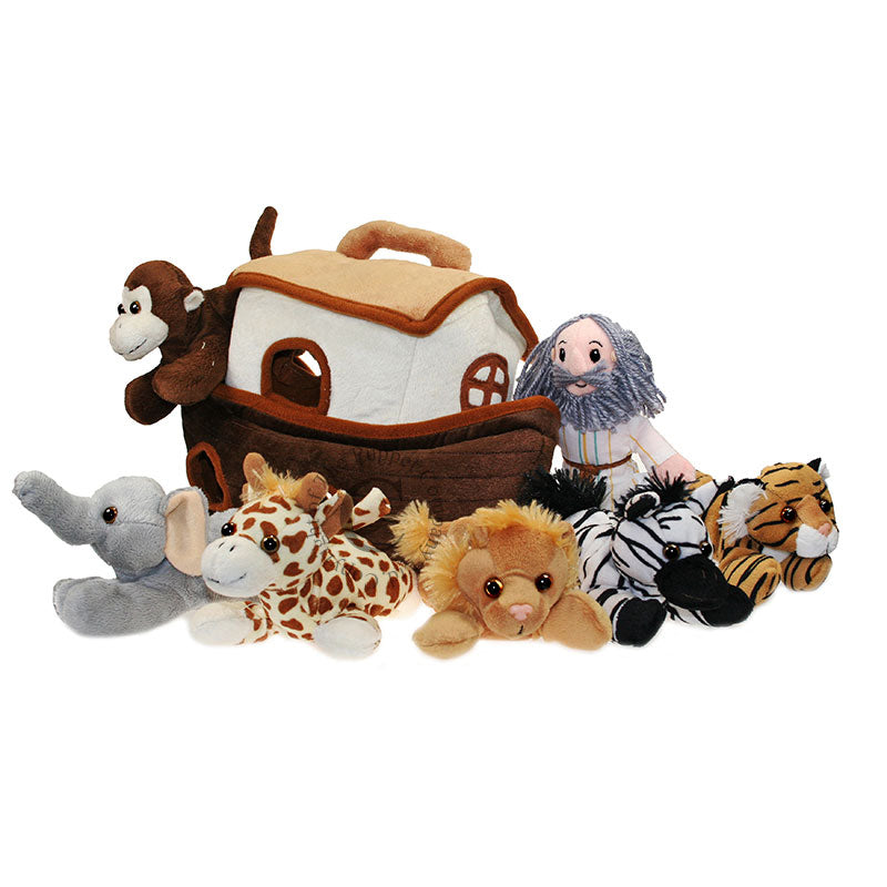 Noahs Ark with finger puppets