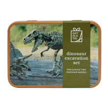 Load image into Gallery viewer, Dinosaur in a tin