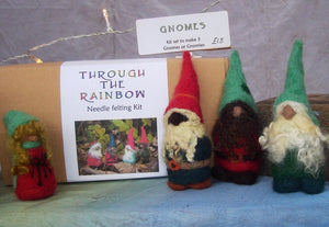 Gnomes  - Needle Felting Kit