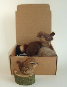 Wren - Needle felting Kit