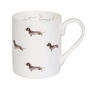 Dachshund china mug
