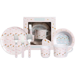 Unicorn children's dinner set