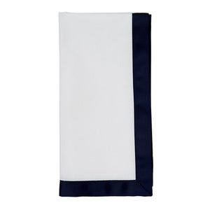 Juliska Ribbon Pique Navy Blue Napkin