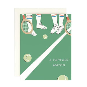 Amy Heitman Perfect  Match Card