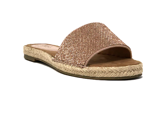 Shu Shop Daya Rose Gold Sandals