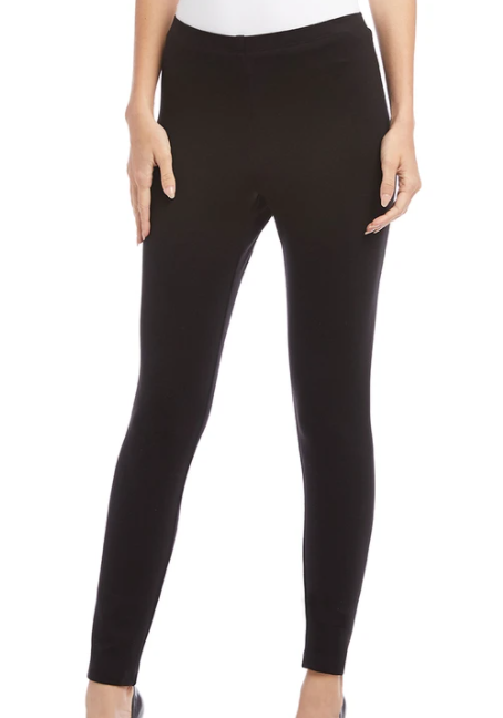 Karen Kane Black Wonder Knit Legging
