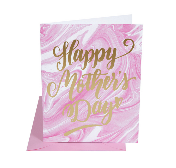 Happy Mothers Day Marble Card