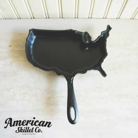 American Skillet Co USA Shaped Skillet