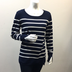Orly Striped Navy/Wh Top