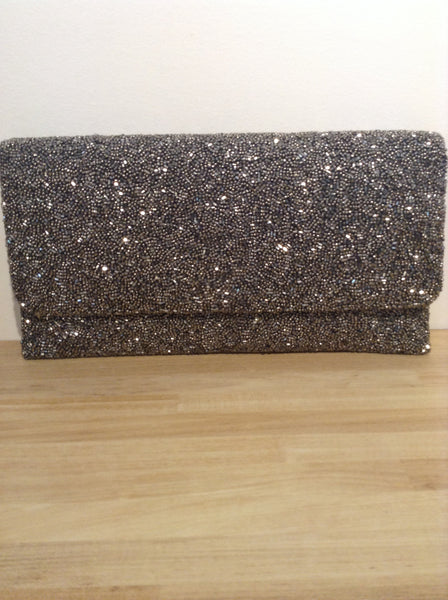 Monya Large Beaded Clutch