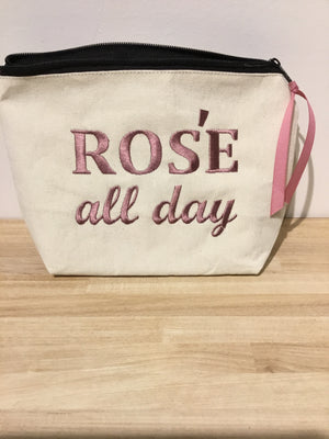 "Dani Risi ""Rose All Day"" Pouch"