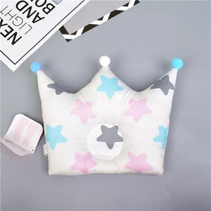 Royalty Infant Head Pillow Stars