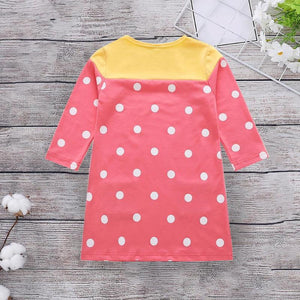 Marianelle Polka Dress
