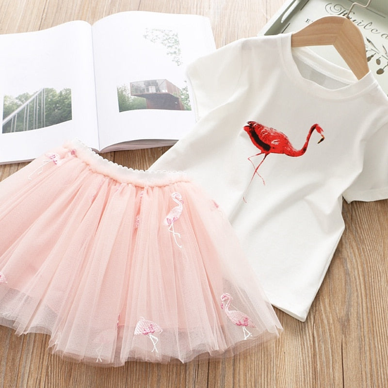 Alexa Flamingo Princess Dress