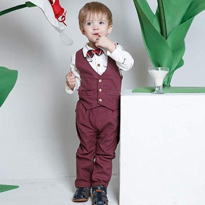 Claude 3pieces Gentleman Outfit