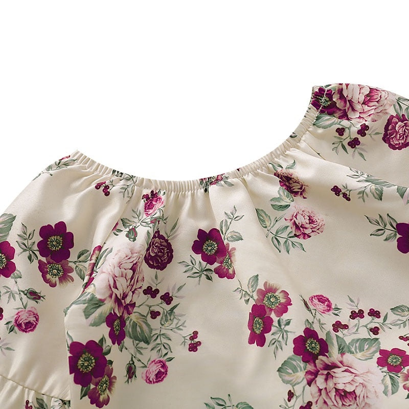 Claire Floral Longsleeve