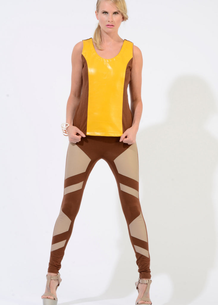 Isa-leather-patch-legging