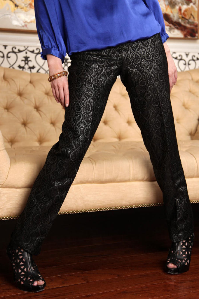 Brocade skinny pants - SOLD OUT