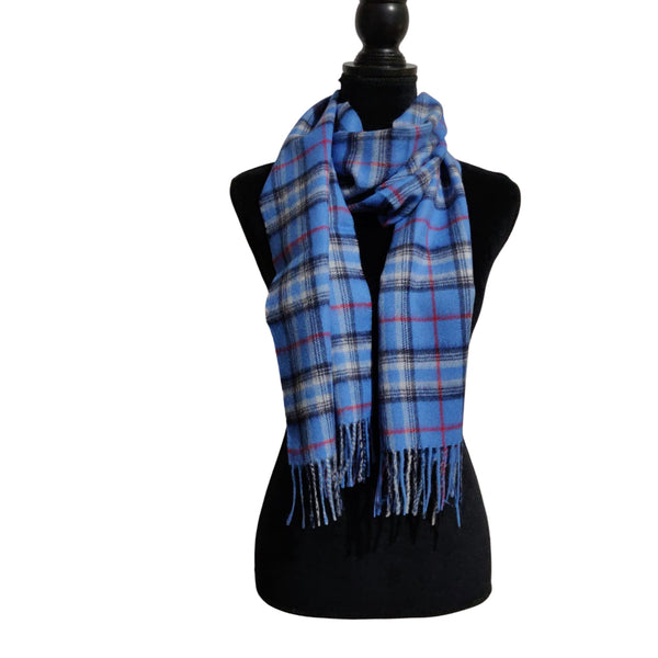 Stylish Pure Peruvian Baby Alpaca Wool Reversible Warm Scarf for Men & Women