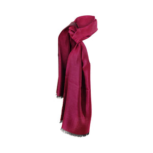 Luxury Pure Peruvian Baby Alpaca Wool & Silk Reversible Shawl for Women