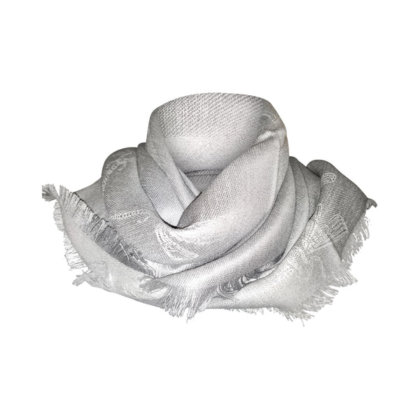 Stylish Dragonfly Design Year Round Scarves for Men & Women - 70% Natural Peruvian Baby Alpaca  / 30% Natural Silk