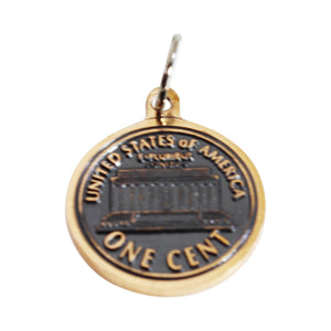 100 Customized Washington DC Souvenir - Jefferson Memorial - Lincoln Charm adjustable bracelet