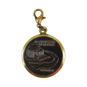 100 Customized Washington DC Landmark Souvenir Charm - Jefferson Memorial - Lincoln Memorial