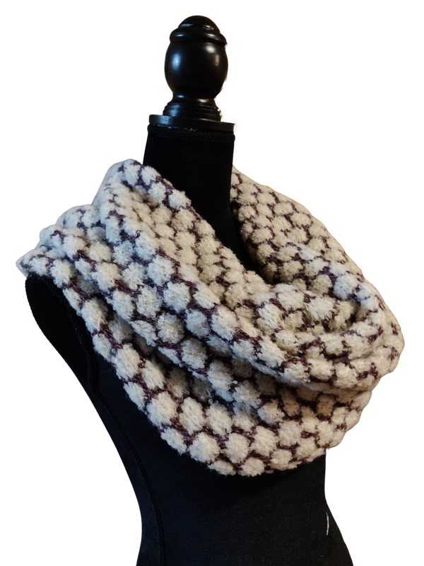 Baby Alpaca - Knit Neck Warmer Scarf - One Size Fits All