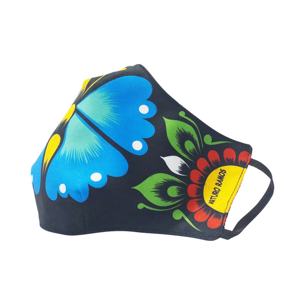 Traditional Andean Heaven Butterfly Washable Face Mask
