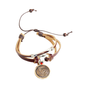 Washington DC Souvenir - Jefferson Memorial - Lincoln Charm adjustable bracelet