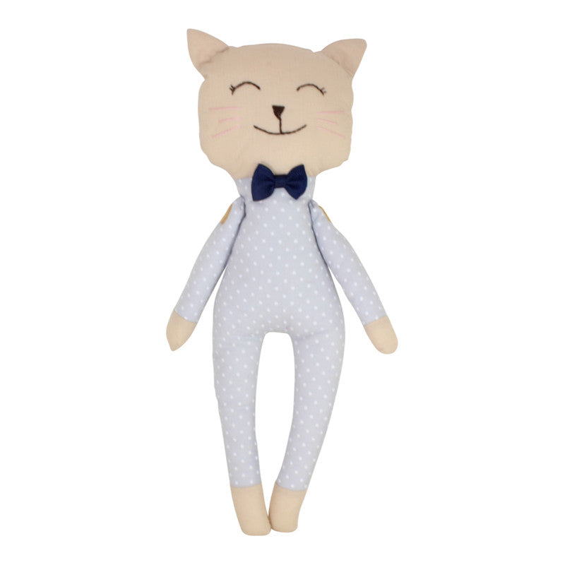 Collectible Bere's Kitty Friend Eco-friendly Cotton Handmade Doll - Peru Gift Shop
