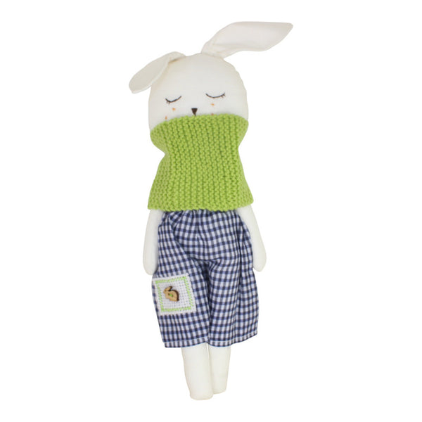 Collectible Bere's Bunny Friend Eco-friendly Cotton Handmade Doll - Peru Gift Shop