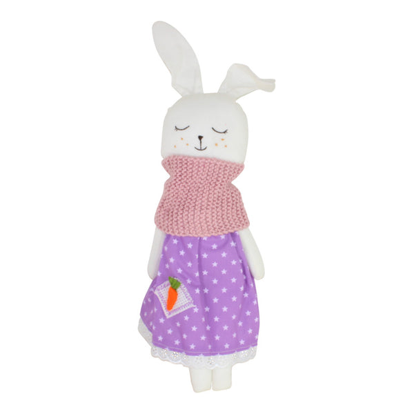 Collectible Bere's Bunny Eco-friendly Cotton Handmade Doll - Peru Gift Shop