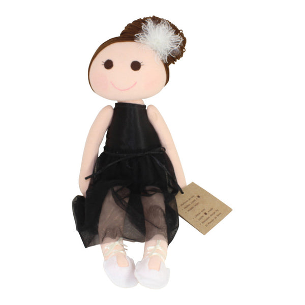 "Collectible Bere's Ballerina Dancer Eco-friendly Cotton Handmade Doll L:16"" - Peru Gift Shop"