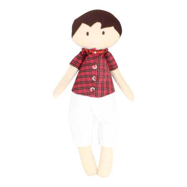 Collectible Bere's Boy Friend Eco-friendly Cotton Handmade Doll - Peru Gift Shop