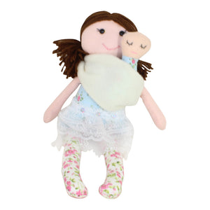 Collectible Bere's Mommy & Me Eco-friendly Cotton Handmade Doll - Peru Gift Shop