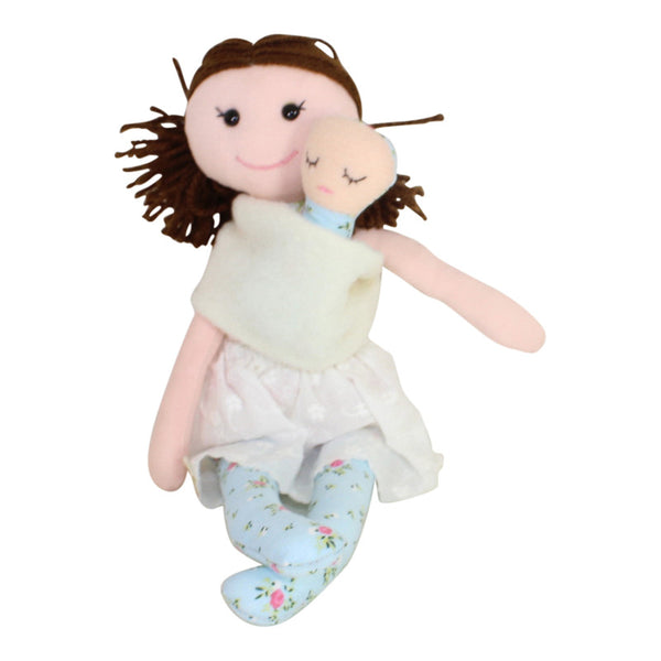 Collectible Bere's Mommy & Me Eco-friendly Cotton Handmade Doll
