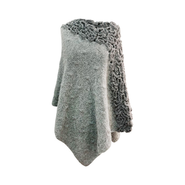 Baby Alpaca - Warm Knit Poncho Cape - One Size Fits All
