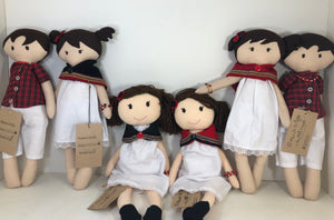 Collectible Bere's Eco-friendly Cotton Handmade Doll L:16""