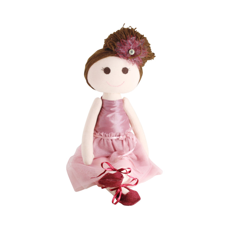 Collectible Ballerina  Bere's Eco-friendly Cotton Handmade Doll L:16""