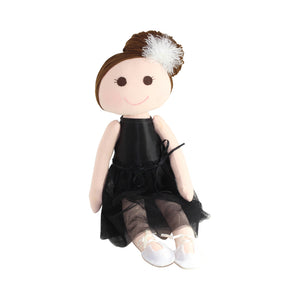 Collectible Bere's Ballerina Dancer Eco-friendly Cotton Handmade Doll L:16""