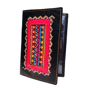 100% Genuine Leather Handmade Passport Wallet